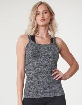 Ladies` Seamless Strappy Vest